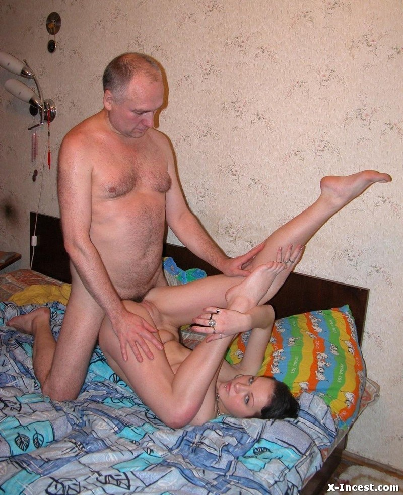 Daddy fucks his daughter incest