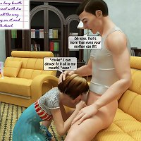 Painful anal sister incest